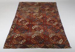 A Turkmen Ersari carpet
