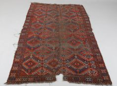 Two Ersari/Beshir large rugs
