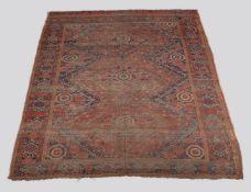 A Turkmen Ersari Beshir or Amu Darya carpet