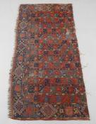 Three Ersari Beshir carpet fragments