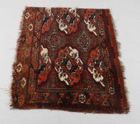 A Turkmen Arabachi chuval fragment