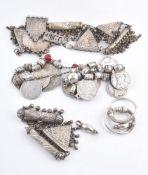 A pair of Bedouin earrings