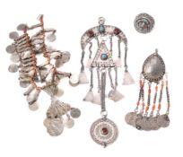 ϒ A Middle Eastern fringe necklace