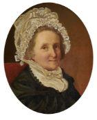 Circle of John Linnell (British 1792-1882), Portrait of Ann Matson, second daughter of Jacob Morland