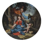 After Federico Barocci (17th/18th century), The Rest on the flight into Egypt