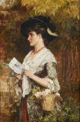 Laslett John Pott (British 1837-1898), The letter