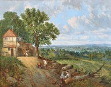 John Holland Snr (British 1799-1879), The River Severn