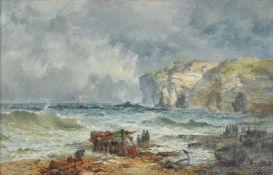 Henry James Holding (British 1833-1872), Flamborough Head