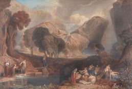 After Joseph Mallord William Turner, The Goddess of Discord Choosing the Apple of Contention in the