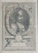 After John Vanderbank, English monarchs (Qty)