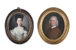Jan Godfrey (British 18th century), A portrait of a lady