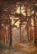 Frank Walton (British 1840-1928), Feldemore, Holmbury St. Mary, Dorking