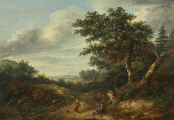 Philip Reinagle (British 1749-1833), Wooded Landscape