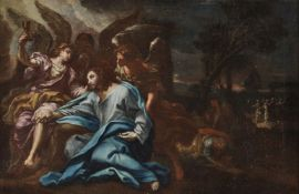 Circle of Antonio Balestra (Italian 1666-1740), The Agony in the Garden