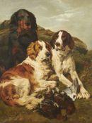 John Emms (British 1844-1912), August on the Moor