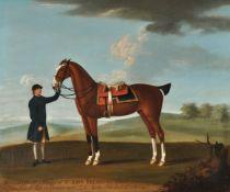 Thomas Butler (British fl. 1750-1759) and studio, Bucephulus a Hunter of Sir John Frederick's Barone