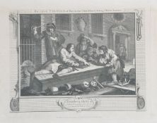 After William Hogarth, Industry and Idleness (12)
