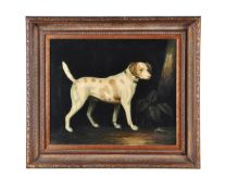λ John Gray (British 20th century)Dog in a landscape