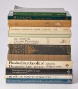 A collection of approximately 35 reference books on antiques