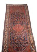 A Hamadan gallery carpet
