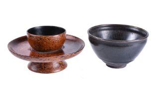 A Jian style 'oil spot' bowl