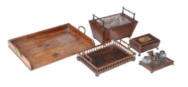 ϒ A group of desk items