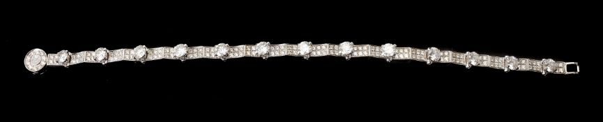 A diamond bracelet by Garrard