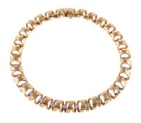A diamond collar necklace by Boodles