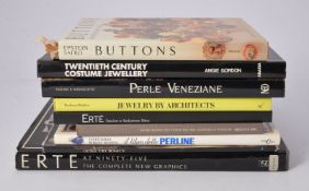 [Books on costume jewellery and design]
