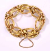 Armband750-Gelbgold, 51 g.