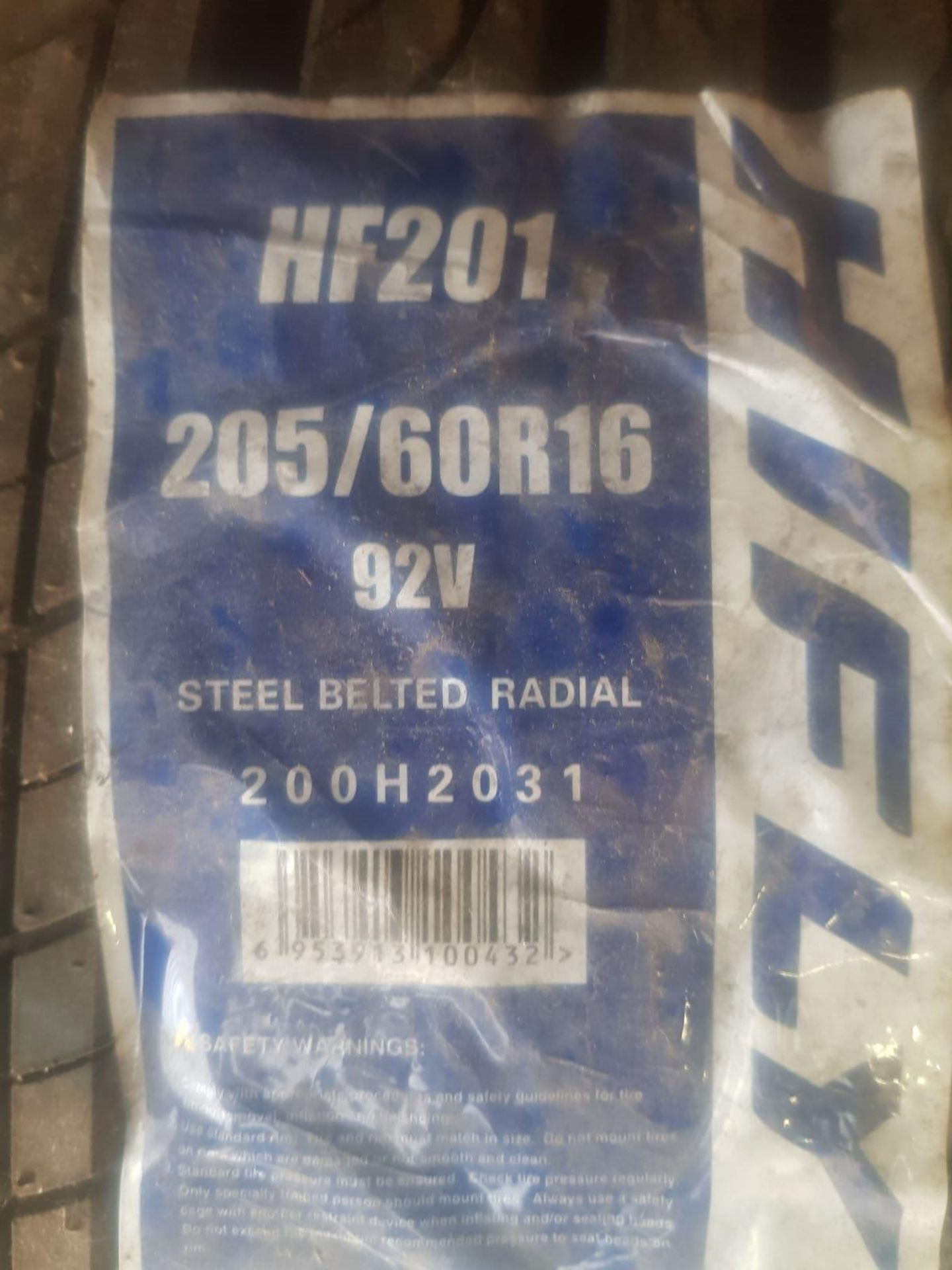 Lot 33 - NEW HIFLY TYRE 205/60/16 We do not