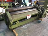 Lot 13 - Ste-Co heavy duty powered rolls 6'. This lot cannot be confirmed to be in compliance with current