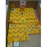 Lot 59 - Box of Kennametal SE Drills Modular Carbide Tips (Drill Ends)