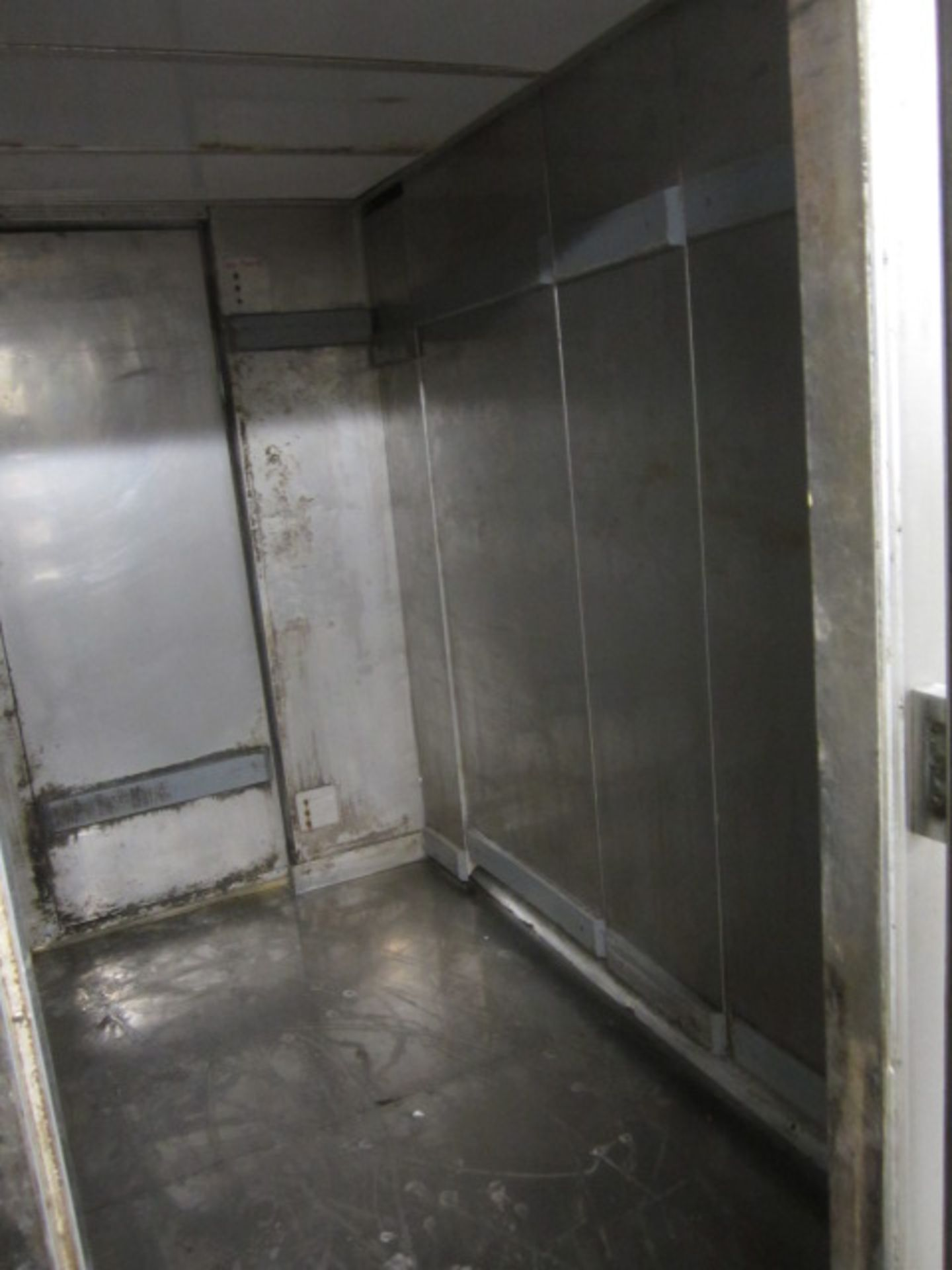 Lot 13 - Lillnord stainless steel double sided two twin door walk in prover. 2750 x 2400 x 2500mm (Please
