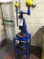 Lot 17 - Denbigh 3 fly press and bench