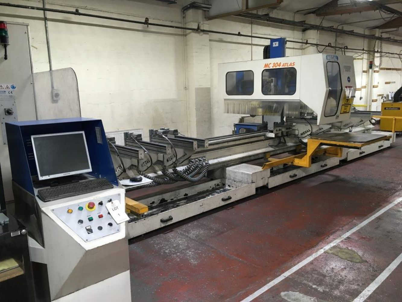 Metal fabrication plant and machinery, commercial vehicles, forklifts and sundry equipment