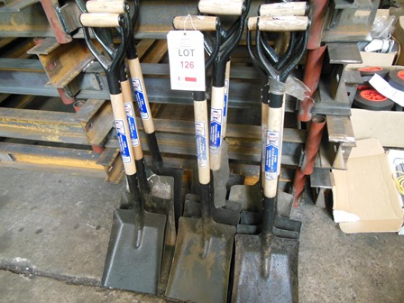 Lot 126 - 11 shovels