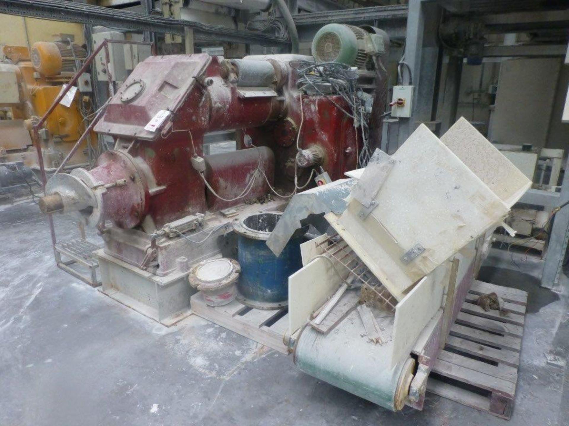 Lot 10 - Ortlinghaus Werk Kupplung top feed VIT clay Pug, serial No 78-15440, Plant No SHPG1 CHINA PUG 1 (