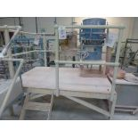 Lot 41 - William Boulton Vibro Energy 19-2-6T vibratory sieve, serial No 3888. Plant No SHS6 with steel