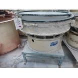 Lot 27 - SWG Vibro Screen 48-2-SS, 1020mm diameter vibratory sieve, serial No 107312