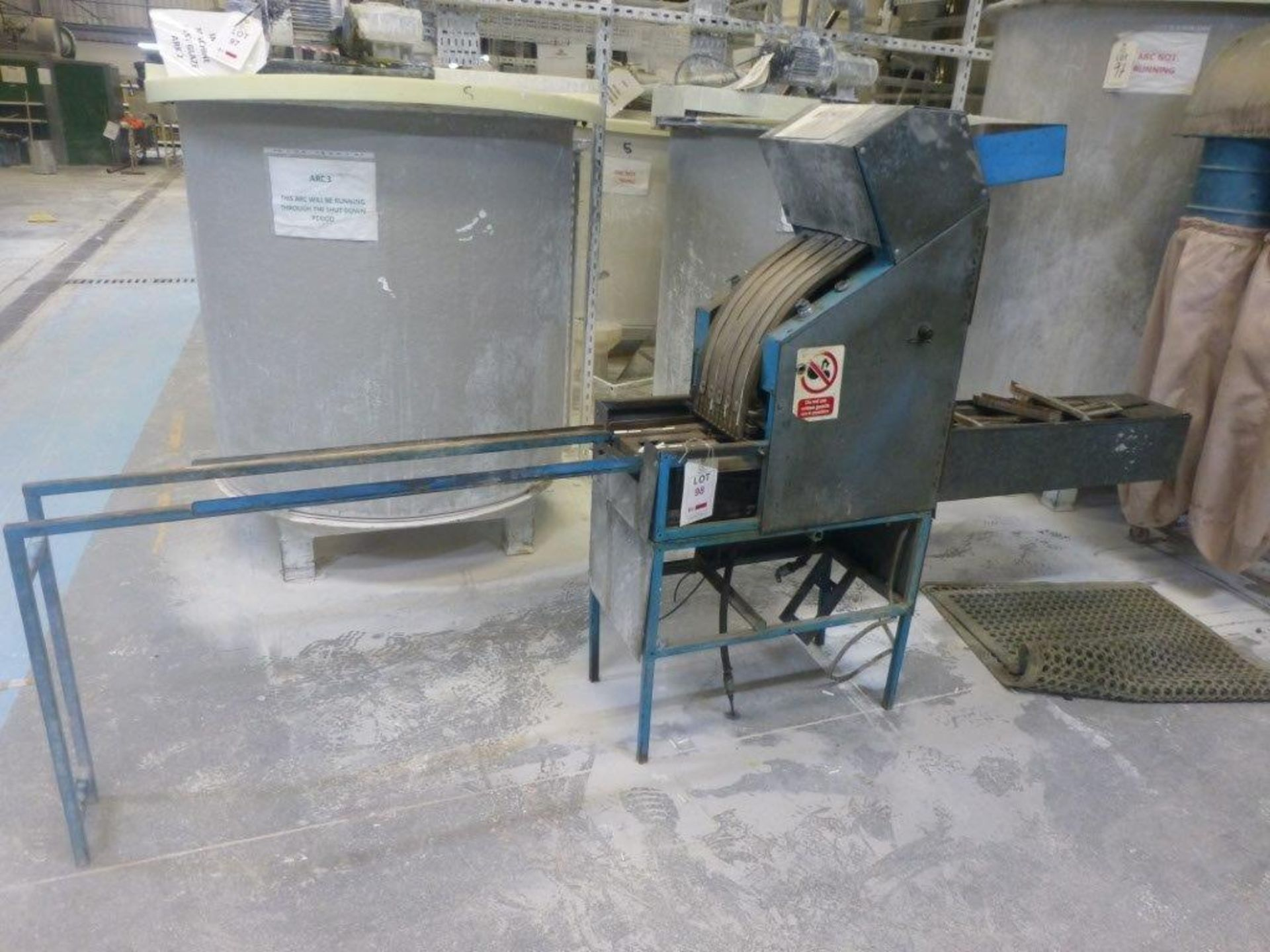Lot 98 - Refractory pin inserter, Plant No Machine 4