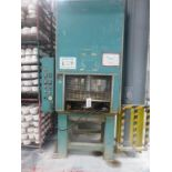 "Lot 46 - Single ram hydraulic press, platen size 34"" x 44"", Plant No RP5 (not in use)"