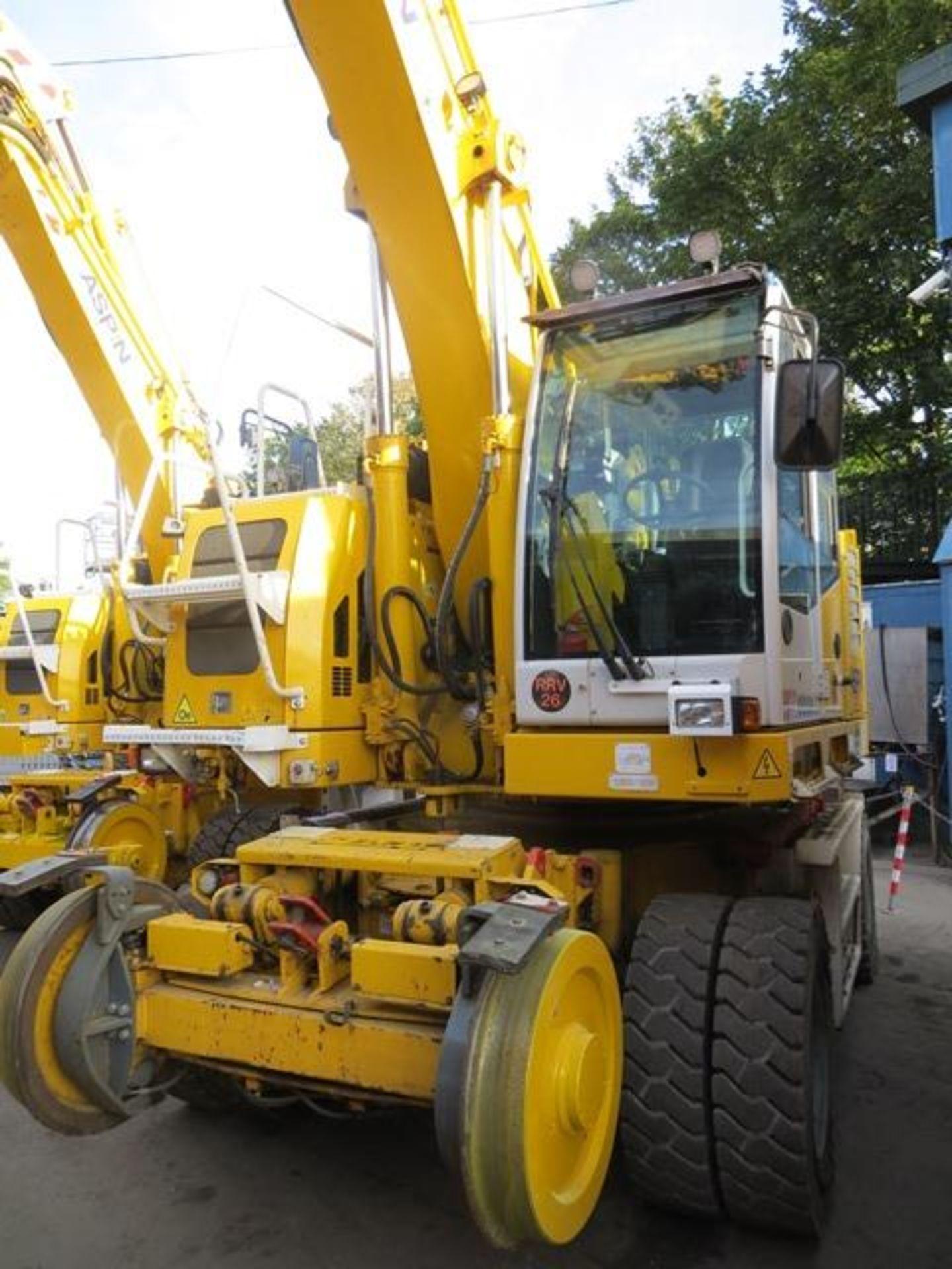Lot 17 - Colmar T10000FS road / rail excavator s/n 8753 (2016) running hours approx 2,080 c/w Euro 5 DPF.