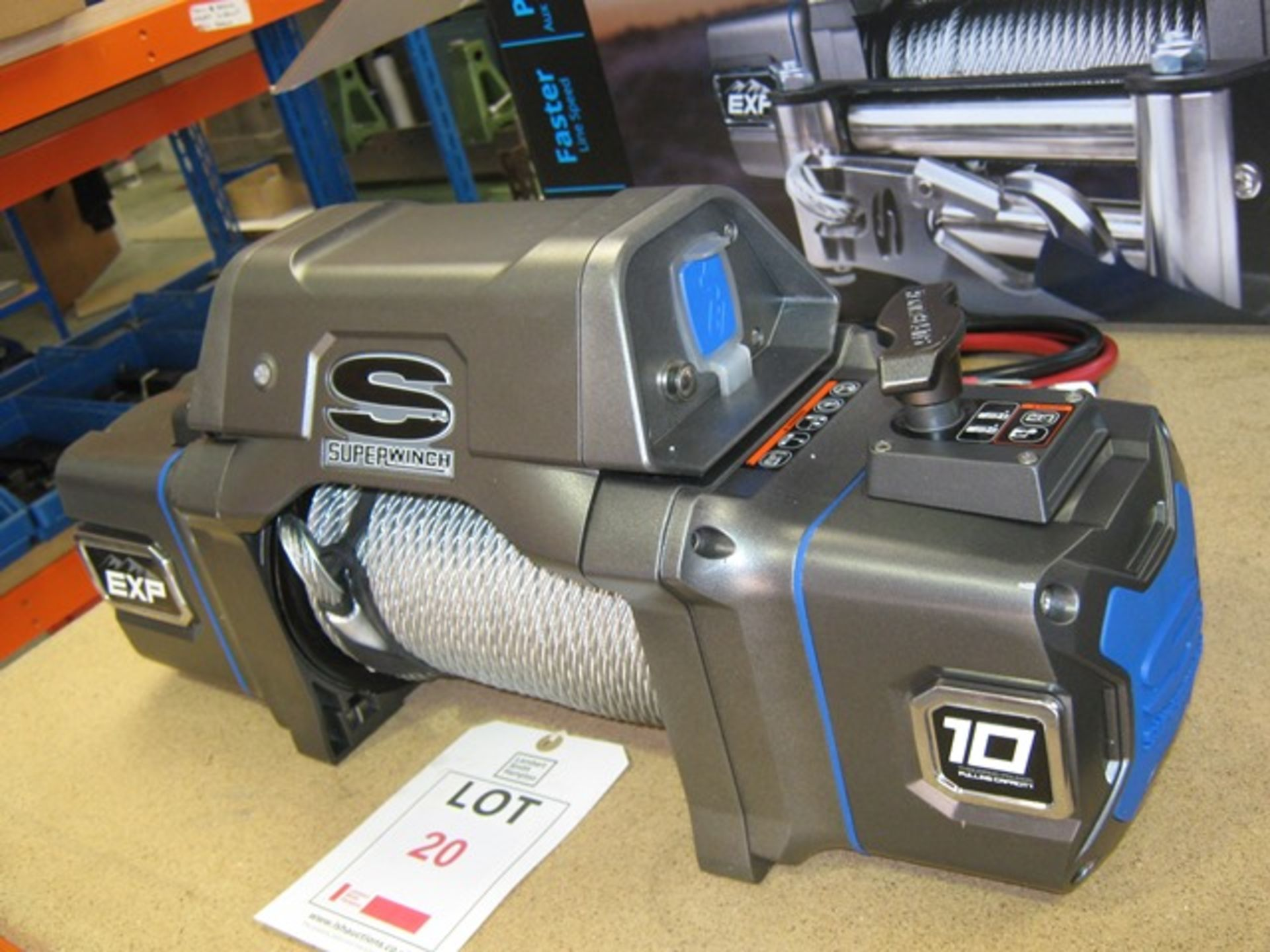 Lot 20 - Superwinch part no. S102737 off road/recovery winch, unused