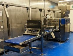 Modern bakery and sandwich production equipment