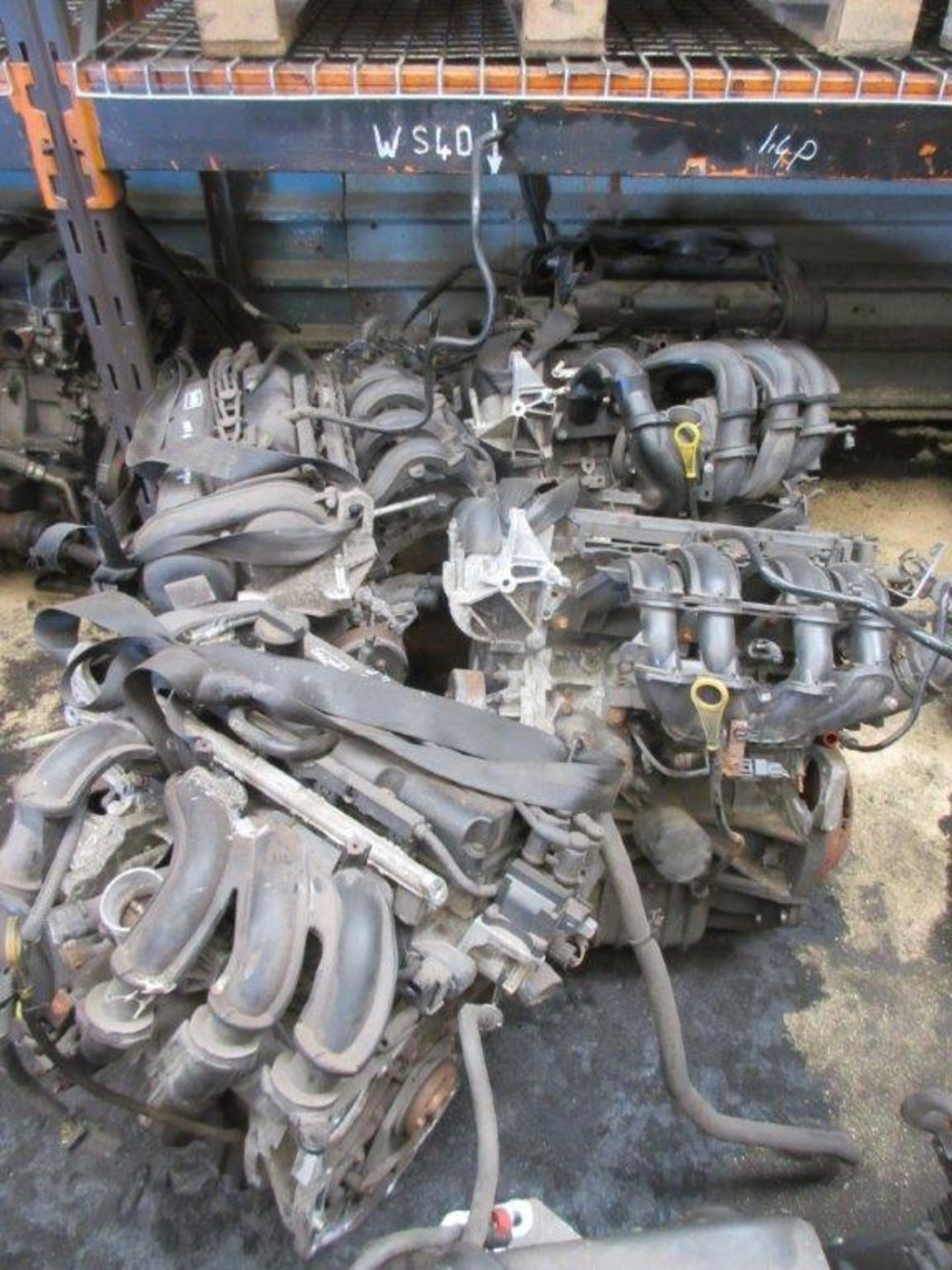 Lot 50 - 20 assorted engines including ADDA Mk 2 2 litre P, 1.8P, unknown, JMK, unknown, JMK 2 litre, SNJB 59