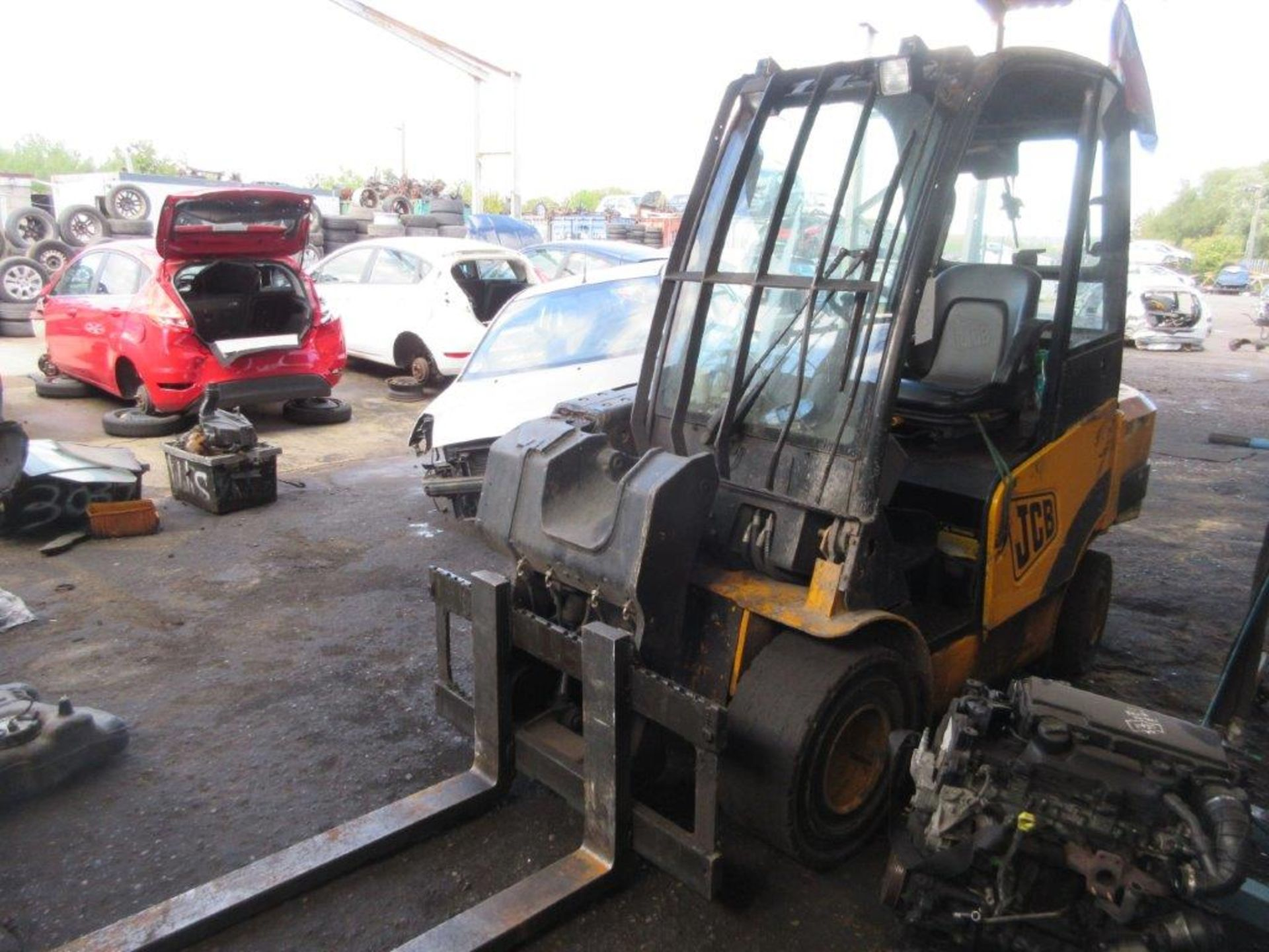 Lot 23 - JCB Teletruk model 88/1269/EEC diesel powered telehandler, Serial no. 982926T (2009), capacity: