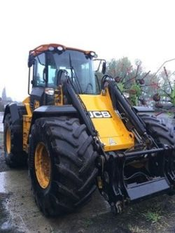 Modern agricultural tractors, telehandlers and farm equipment
