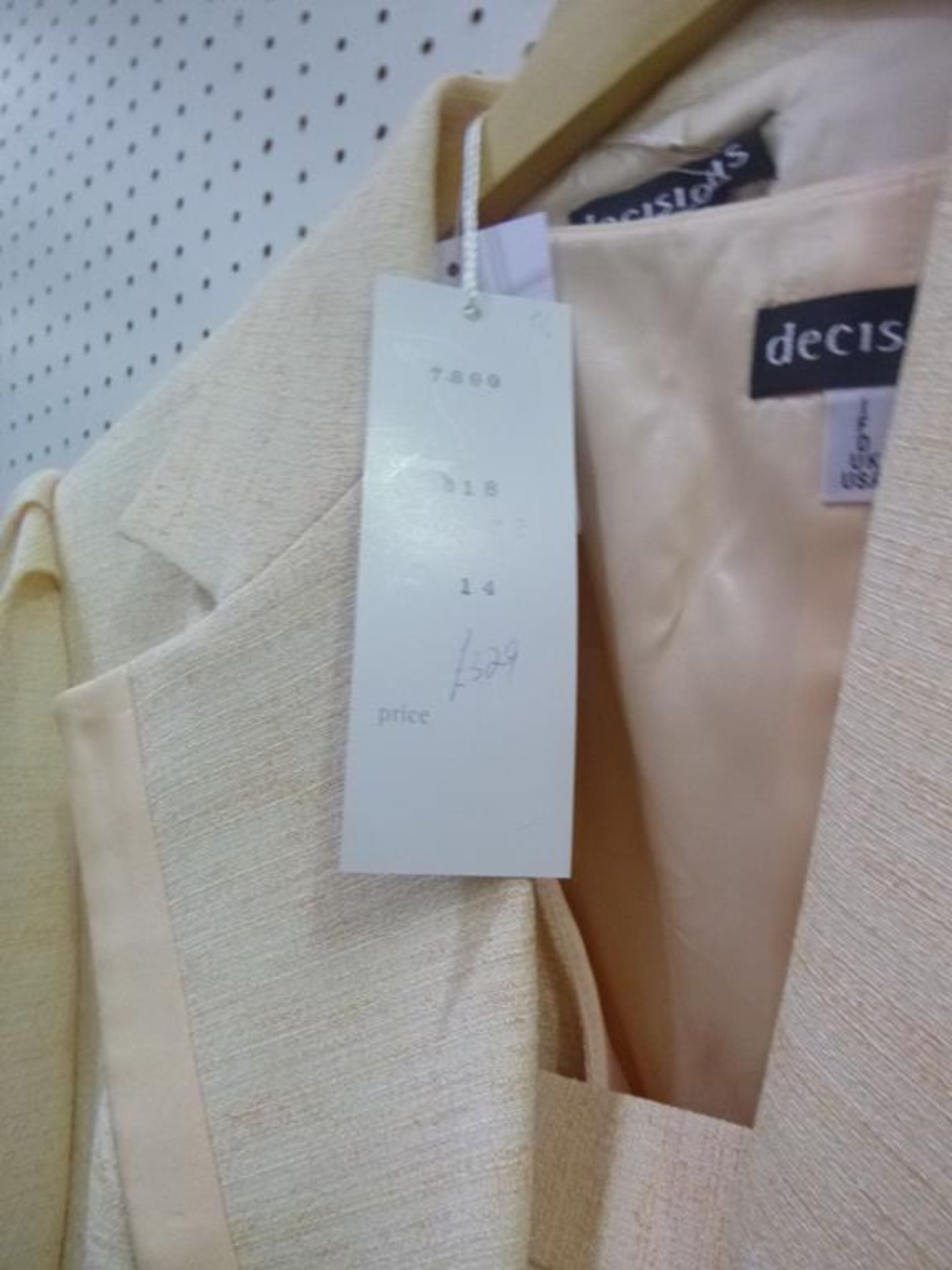 Lot 8017 - * Three Ladies Garments each by Decisions. One each of sizes 12, 14 and 16. Please see photographs
