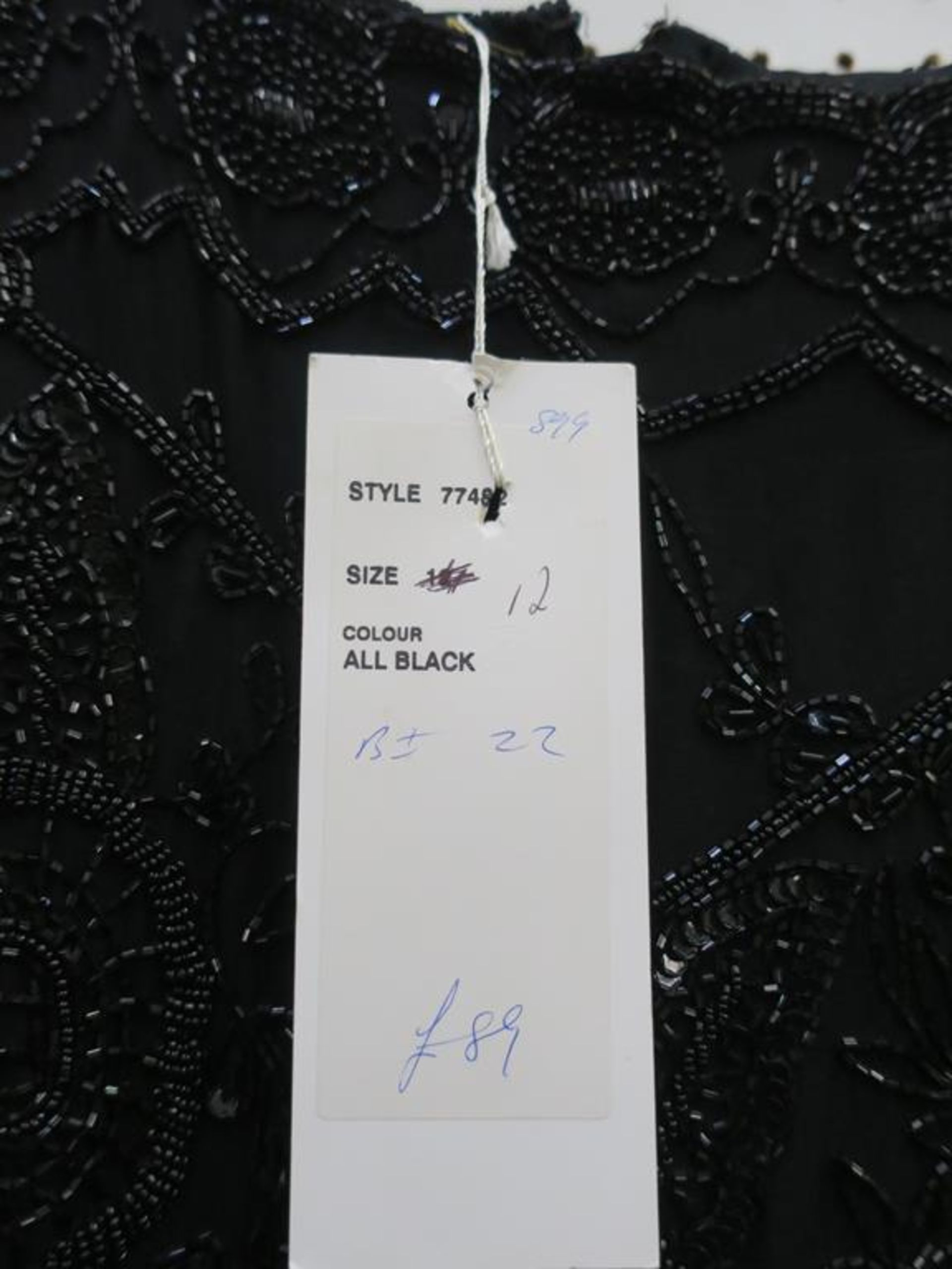Lot 8002 - * A selection of nine Ladies Garments in a range of sizes from Size 12 to Size 20. Names to